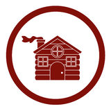 Haus дизайна сезона рождества Стоковое фото RF