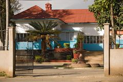 Haus 002 Afrika Lizenzfreies Stockbild