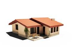 Haus 3d stock abbildung