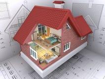 Haus. Stockbild