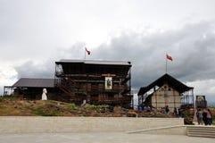 Haus Adem Jasharis s, Prekaz, Kosovo Stockfoto
