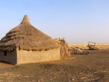 Haus in Afrika Lizenzfreies Stockbild
