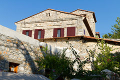 Haus in altem Datca Stockbilder
