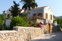 Haus in altem Datca Stockfotos