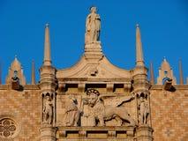 Haus-Architekturdetails Venedigs Italien alte stockfoto