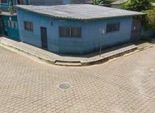 Haus in Ataco, El Salvador Stockfoto