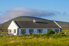 Haus auf Achill-Insel Stockbild