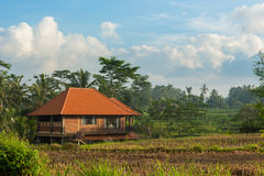 Haus auf Bali Lizenzfreies Stockbild