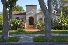 Haus auf dem Halbinsel-Süden von San Francisco Lizenzfreies Stockfoto