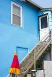 Haus auf dem Strand, Cape May County, NJ, USA stockfoto