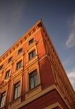 Haus auf der alten Stadt Warschaus Stockfotografie