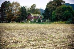 Haus auf einem Bauernhof Lizenzfreies Stockfoto