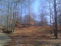 Haus auf Hügel Stockfotos