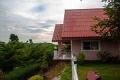 Haus auf Natur Stockbilder