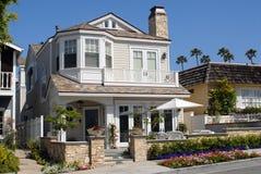 Haus auf Ozean-Frontseite Lizenzfreie Stockbilder