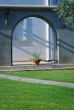 Haus auf Rhodos-Inselstrand Lizenzfreies Stockbild