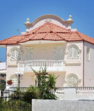 Haus auf Rhodos-Inselweiß Lizenzfreies Stockfoto