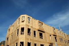 Haus-Aufbau Lizenzfreies Stockbild