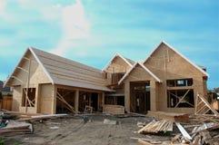 Haus-Aufbau Lizenzfreie Stockfotografie