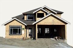 Haus-Aufbau Stockfoto