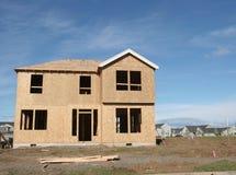 Haus-Bau lizenzfreie stockfotografie