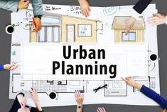 Haus-Bau-Design-Architektur-Ideen-Konzept stockfotos