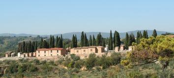 Haus bei Toskana, Italien Lizenzfreie Stockbilder