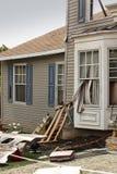 Haus beschädigte durch Unfall Stockbild