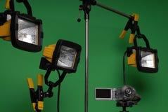 Haus bildete videostudio Stockbild
