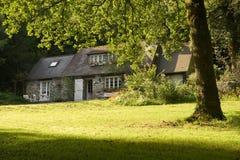 Haus in Bretagne lizenzfreie stockfotos