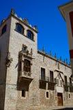 Haus Casa de Los Condestables in Burgos Stockfoto