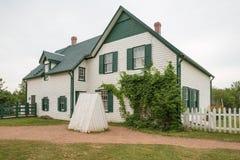 Haus in Cavendish auf Prinzen Edward Island stockfoto