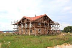 Haus constraction Stockbilder