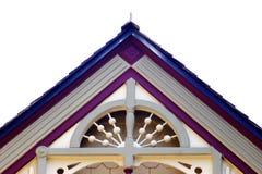 Haus-Dach-Spitze stockfotos