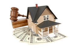 Haus, das verkauft wird Lizenzfreie Stockfotografie
