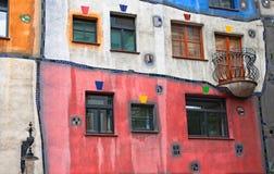 Haus de Hundertwasser en Viena, Austria Foto de archivo libre de regalías