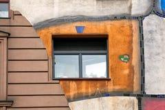 Haus de Hundertwasser en Viena, Austria Imagen de archivo libre de regalías