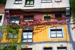 Haus de Hundertwasser en Viena, Austria Fotos de archivo
