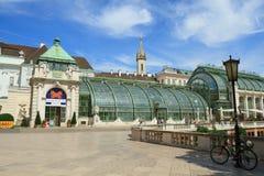 Haus de Schmetterling en Viena Imágenes de archivo libres de regalías