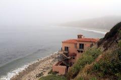 Haus in dem Ozean Lizenzfreies Stockbild