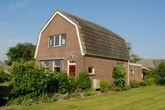 Haus in den Niederlanden Stockbild