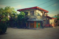 Haus in den Philippinen lizenzfreies stockbild