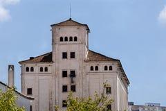 Haus in den Ruinen Lizenzfreie Stockbilder