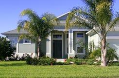 Haus in den Tropen stockfoto