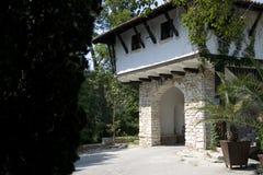 Haus der alten Art Stockbild