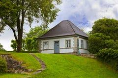 Haus in der alten Festung - Bergen Norway Stockbild