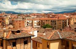 Haus in der alten Stadt in Spanien Stockfoto