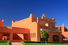 Haus in der arabischen Art Lizenzfreies Stockfoto