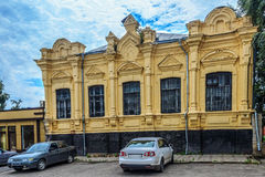 Haus der Architektur des 19. Jahrhunderts Lizenzfreies Stockfoto