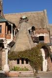 Haus der Eulen (Casina delle Civette) lizenzfreies stockbild